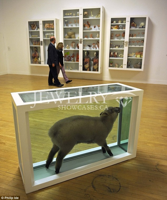 Museum Display Cases Small 422
