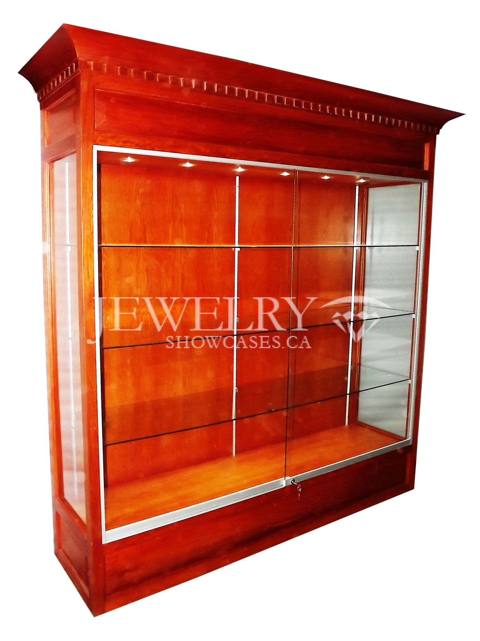 Wall Upright Showcases 520