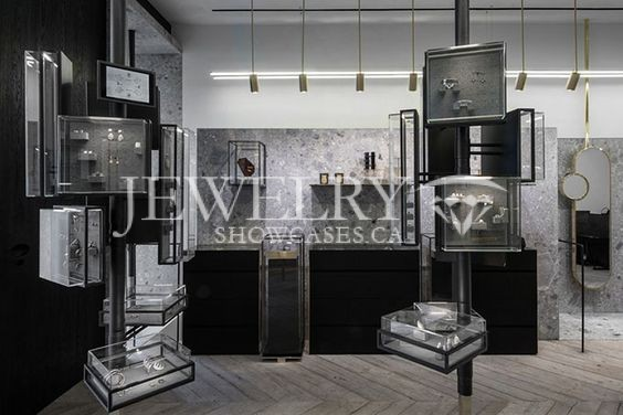 Suspended Display Cases - Photo 553