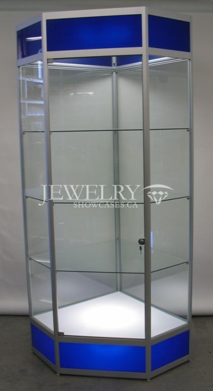 Jewelry Tower Display Cabinet