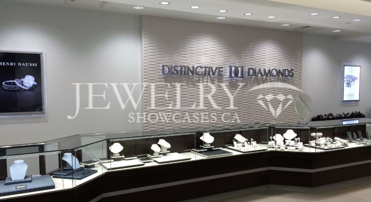 Large Jewelry Showcases